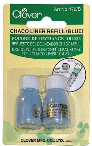 Clover Chaco Liner Blue Refills