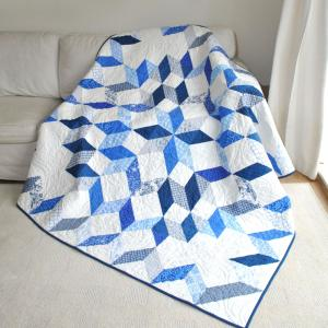 Snow Crystals Quilt Kit-0