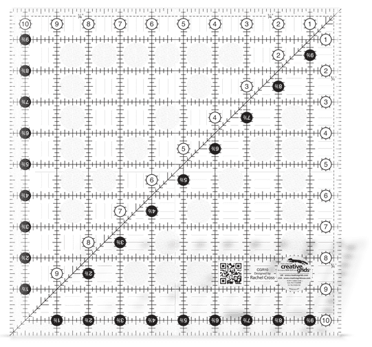 Turn-a-Round Square 10½-0