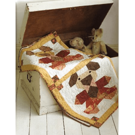 Teddy Bears Quilt Kit-60828