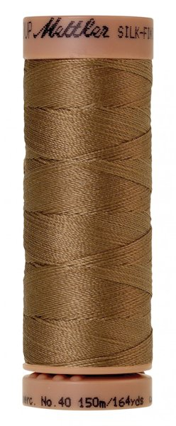 Silk Finish 40 (150m) - Dark Tan