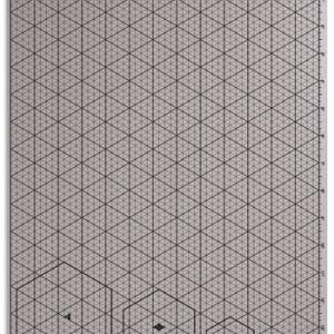 Isometric Template Plastic A3 -0