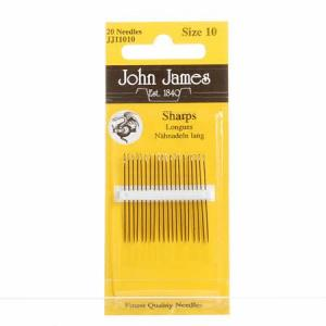 John James Sharps size 10-0
