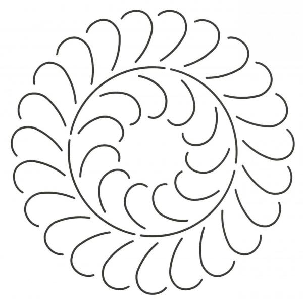 Feather Circle (411)