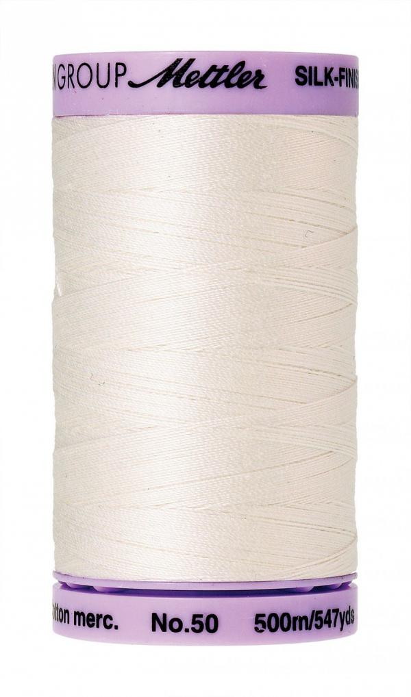 Mettler Silk Finish 50 (500m) - Candlewick