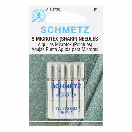 Schmetz Sharp/Microtex Machine 12/80
