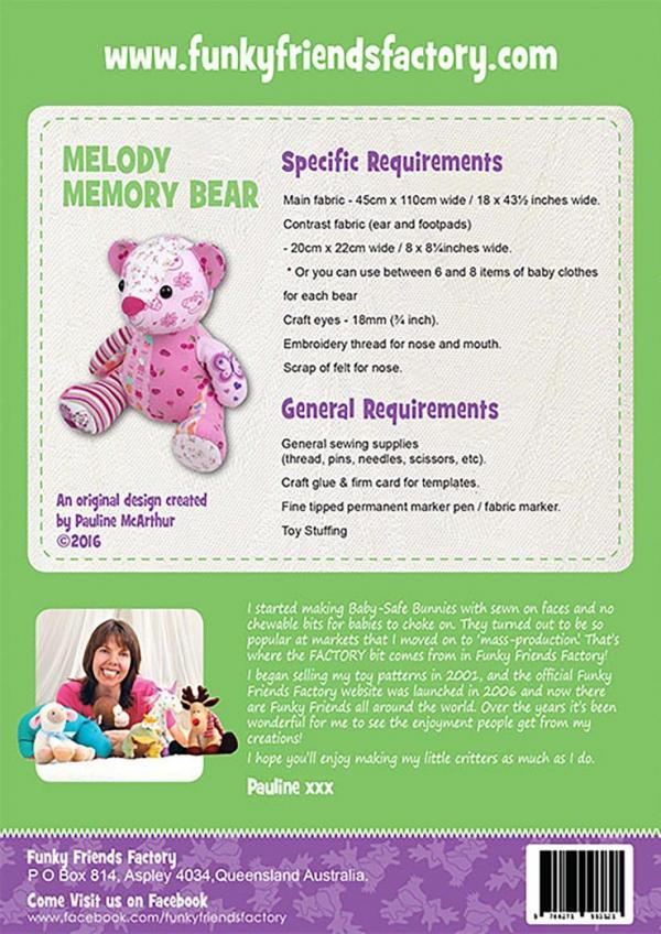 Melody Memory soft toy pattern-67377