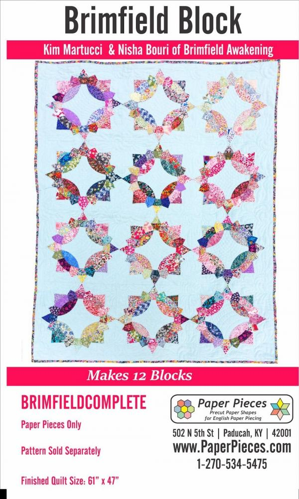 Brimfield Block - Complete Piece Pack Makes 12 Blocks-0