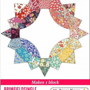 Brimfield Block - single block paper pieces pack-0