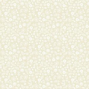 Essentials Doodle Ditzy Light Cream (1911/Q2)