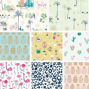 Ocean Drive Fat Quarter Bundle-0