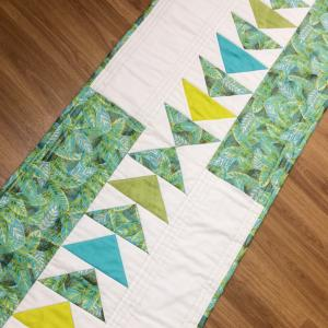 Flying Geese Table Runner Pattern Fabric