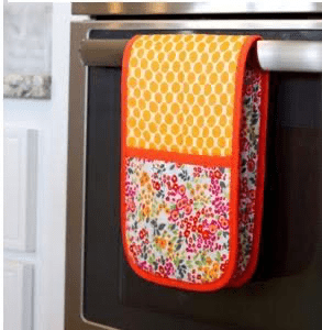 Oven Glove - Patterned Fabric