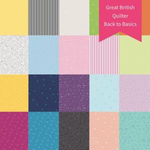 Great British Quilter - Back to Basics - Fat Quarter Collection
