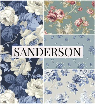 Vintage Fabric Collection from Sanderson
