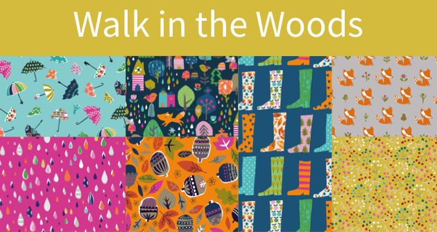 Walk in the Woods fabric